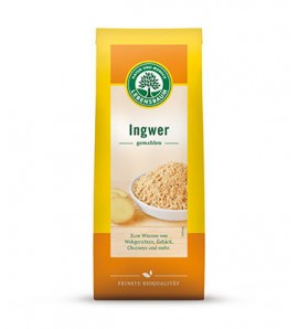 Lebensbaum Ginger powder40g, organic, vegan