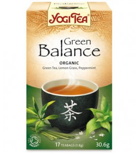 Yogi Tea Zelena ravnoteža 30.6 g, organic
