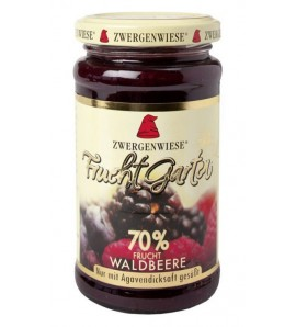 Zwergenwiese Wild Berry FruitGarden sweetened with agave syrup only 225 g