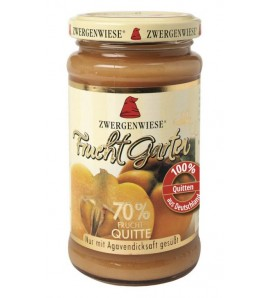 Zwergenwiese, Quince FruitGarden sweetened with agave syrup only 225 g