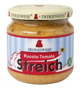 Zwergenwiese Vegetable spread with tomato and rucola 180g, organic, vegan, gluten free