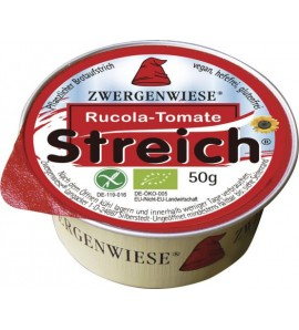 Zwergenwiese Biljni namaz rukola - paradajz 50g, organsko, vegan, bez glutena