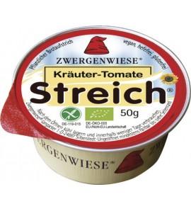 Zwergenwiese Vegetable spread tomato-herbs 50g
