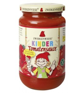 Zwergenwiese Organic Tomato Sauce for Kids 340ml, organic, vegan, gluten free