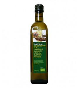 Ekozona Sunflower oil for frying500ml, organic