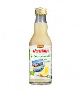 Voelkel Lemon juice 200ml, organic, vegan
