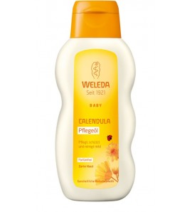 Weleda Calendula oil odorless 200ml, organic