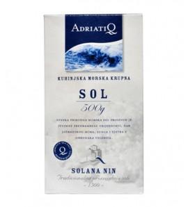 Solana Nin Iodized coarse sea salt 500g