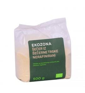 Ekozona Šećer  od šećerne trske 500 g