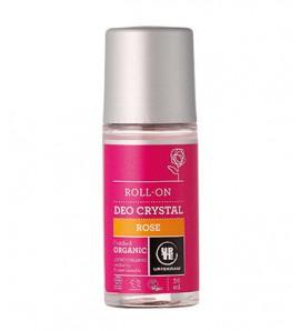 Urtekram Roll-on deodorant with rose 50ml