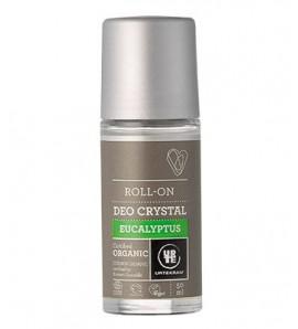 Urtekram Roll-on deodorant crystal with eucalyptus 50ml