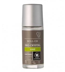 Urtekram Roll-on dezodorans kristal s limetom 50ml