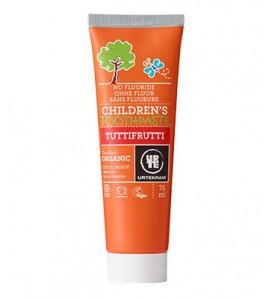 Urtekram Toothpaste for children Tuttifrutti 75ml
