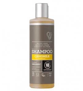 Urtekram Shampoo with chamomile for blonde hair 250ml