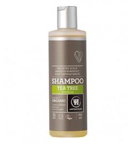 Urtekram Shampoo with tea tree for irritated scalp 250ml