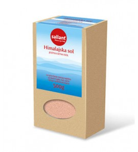 Sallant Iodized Himalayan salt 500 g